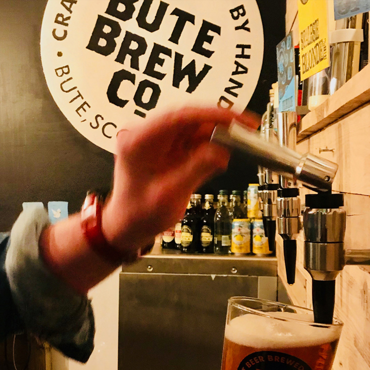 Bute Brew Co are turning economy theory into practice – and beer
