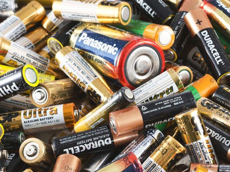 Zero Waste Scotland reminds Scots to recycle old batteries