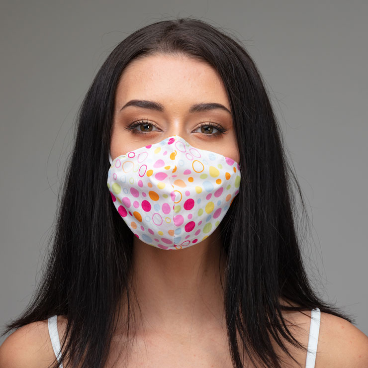 Reusable face coverings recommended for coronavirus protection