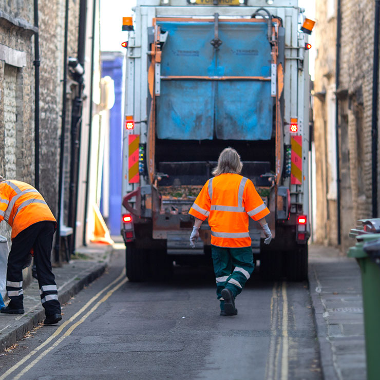 Platform to aid stretched waste collection services