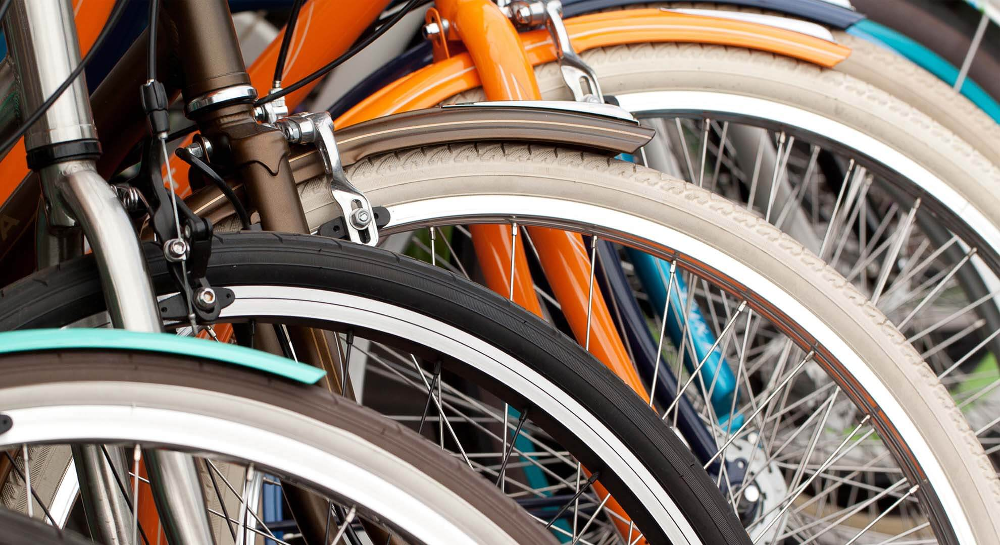 Scots double up on the climate change fight by getting on their second-hand bikes
