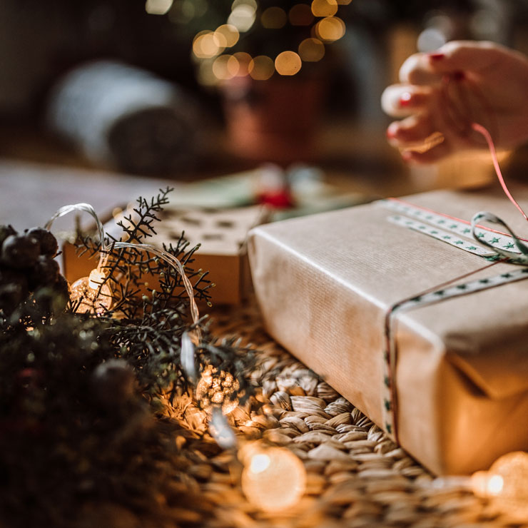 A less wasteful Christmas will bring added joy this year.