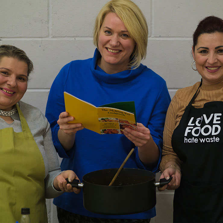 Scottish communities hold the ingredients to tackle food waste