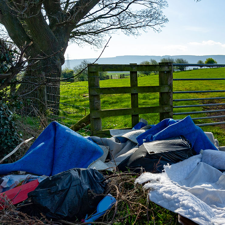 Farmers fighting to feed the country see flytipping spike