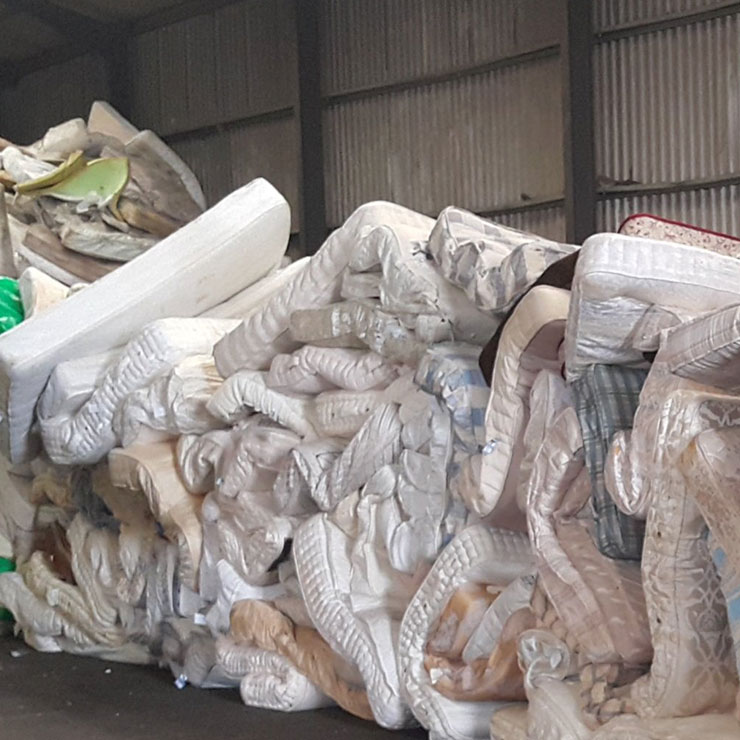 Research partnership aims to put mattress waste to bed